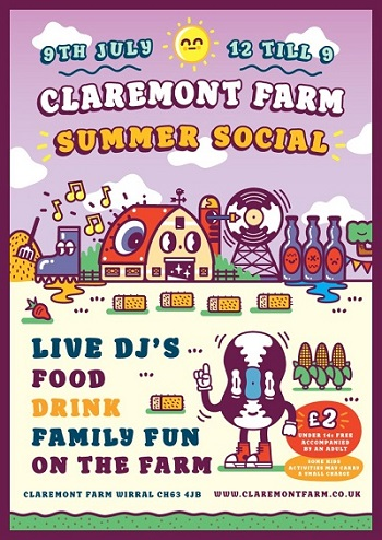 Claremont Farm Summer Social
