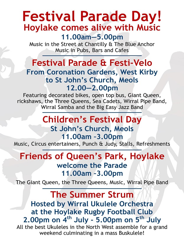 Wirral Festival of Firsts Parade and Festi-Velo!